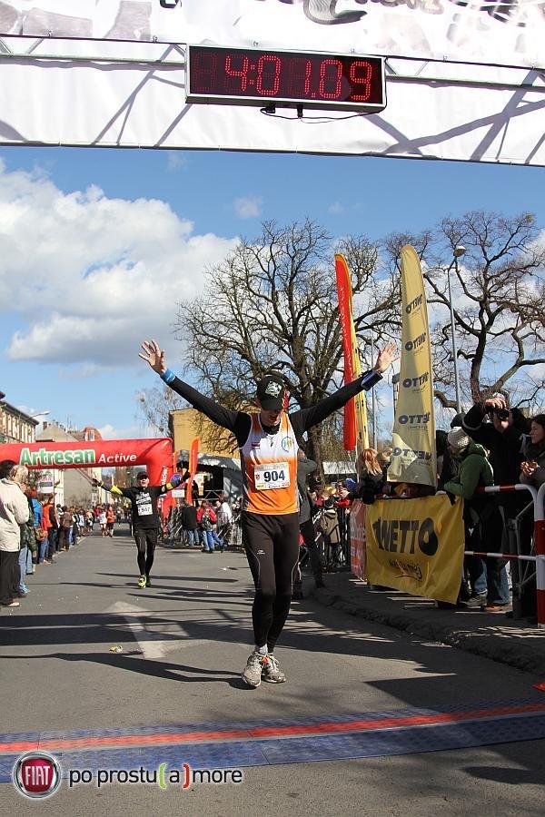 Mój pierwszy maraton. Nie zapomnę... (fot. FotoMaraton.pl