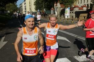 od lewej: Andrzej i Monika